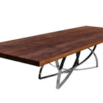 White Ash Dining Table