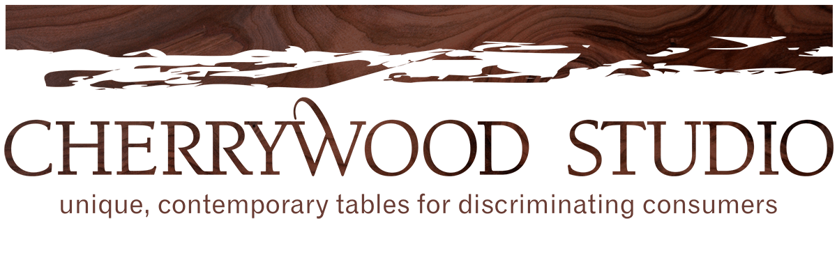 Cherrywood Studios Modern Solid Wood Dining Tables